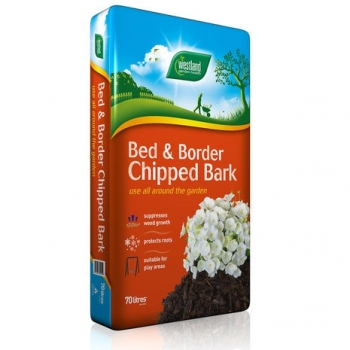 Westland Bed & Border Chipped Bark (70 Ltr Bags) image